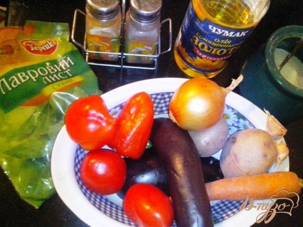 Рецепт Овощное рагу в микроволновой печи