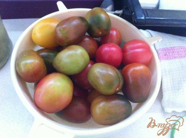Рецепт Маринованные помидоры с зеленым прцем
