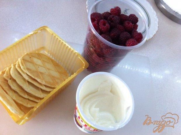 Рецепт Пирожное с малиной
