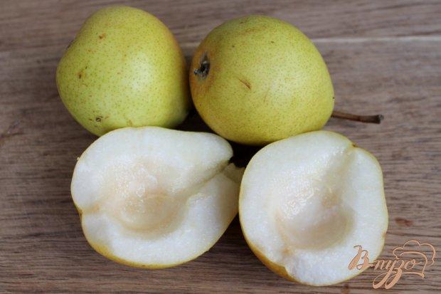 Рецепт Карамелизированная груша фаршированная сладким творогом