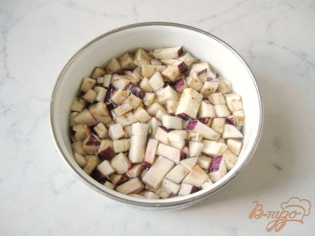 Рецепт Салат из баклажанов с сельдереем