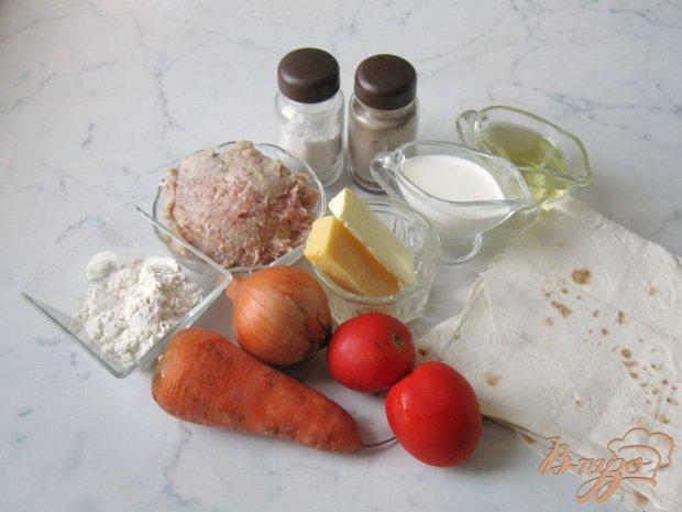 Рецепт Лазанья из лаваша