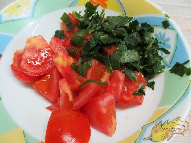 Рецепт Салат из помидора с сельдереем