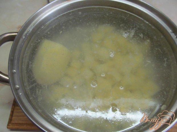 Рецепт Борщ с сухими грибами и заправкой из сала