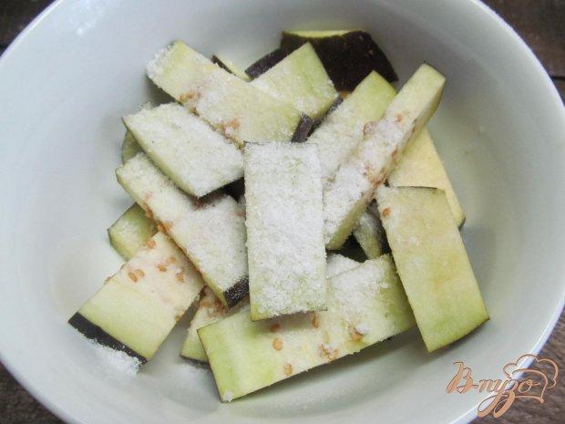 Рецепт Салат из жаренных баклажанов