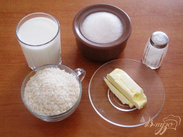 Рецепт Рисовая каша на молоке