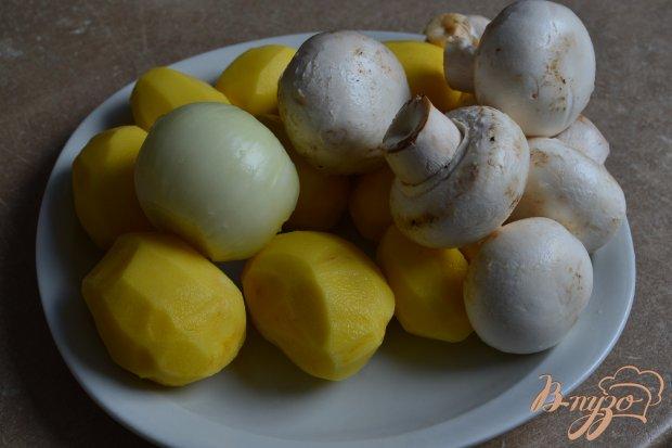 Рецепт Картофельный суп с сыром