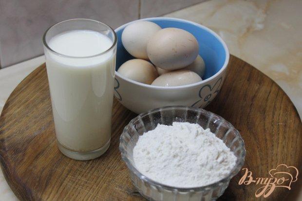 Рецепт Шоколадные блины с творогом изюмом и вареной сгущенкой