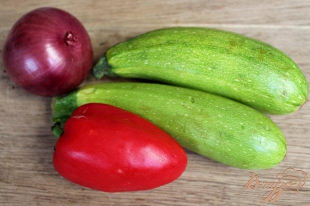 Рецепт Оладьи из кабачка и болгарского перца