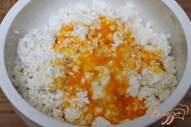 Рецепт Творожная запеканка на взбитых белках с яблоком и абрикосом