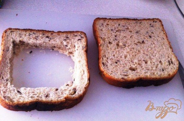 Рецепт Сэндвич с яичницей из духовки