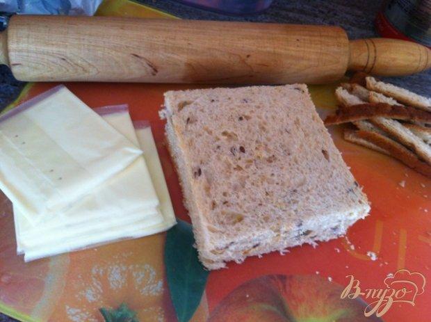 Рецепт Горячие сырные трубочки на завтрак