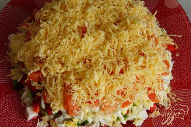 Салат хризантема с курицей рецепт с фото