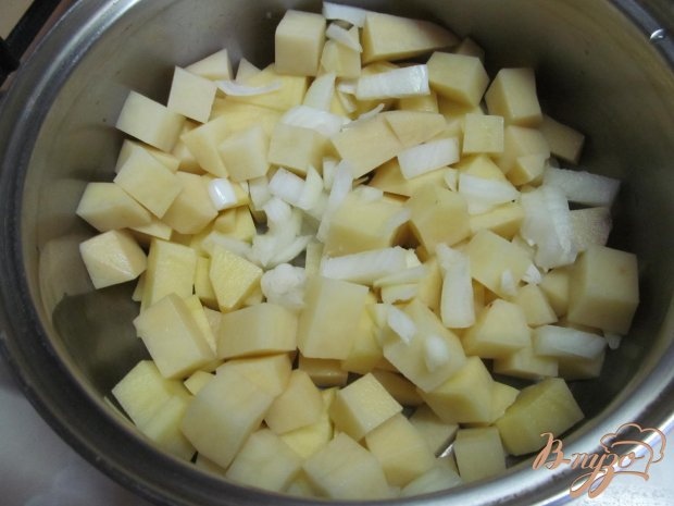 Рецепт Картофельное пюре с пшеном