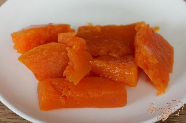 Рецепт Рулет из лаваша с творогом и тыквой