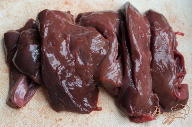 Рецепт Перец фаршированный говяжьей печенью, рисом и корнеплодами