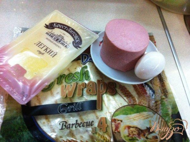 Рецепт Горячий конвертик на завтрак