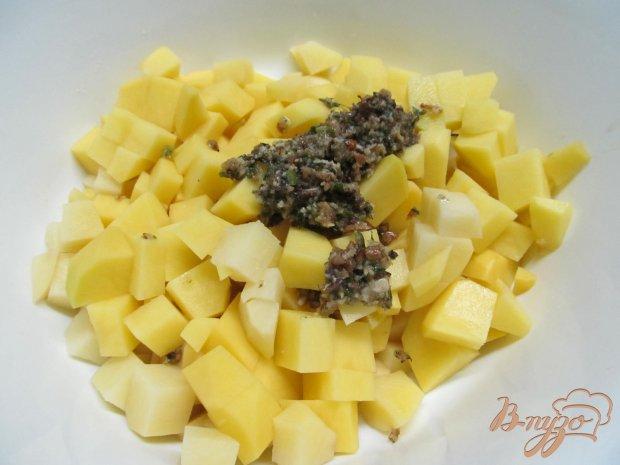 Рецепт Картофель гратен с соусом песто