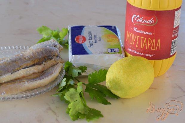 Рецепт Закусочное масло с сельдью