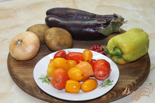 Рецепт Жаренный овощной рататуй