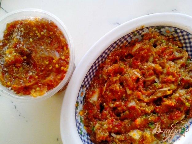 фото рецепта: Замороженная заготовка для икры из баклажан