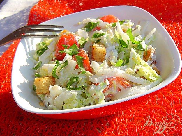 салат из бордовой капусты с сухариками рецепты с фото