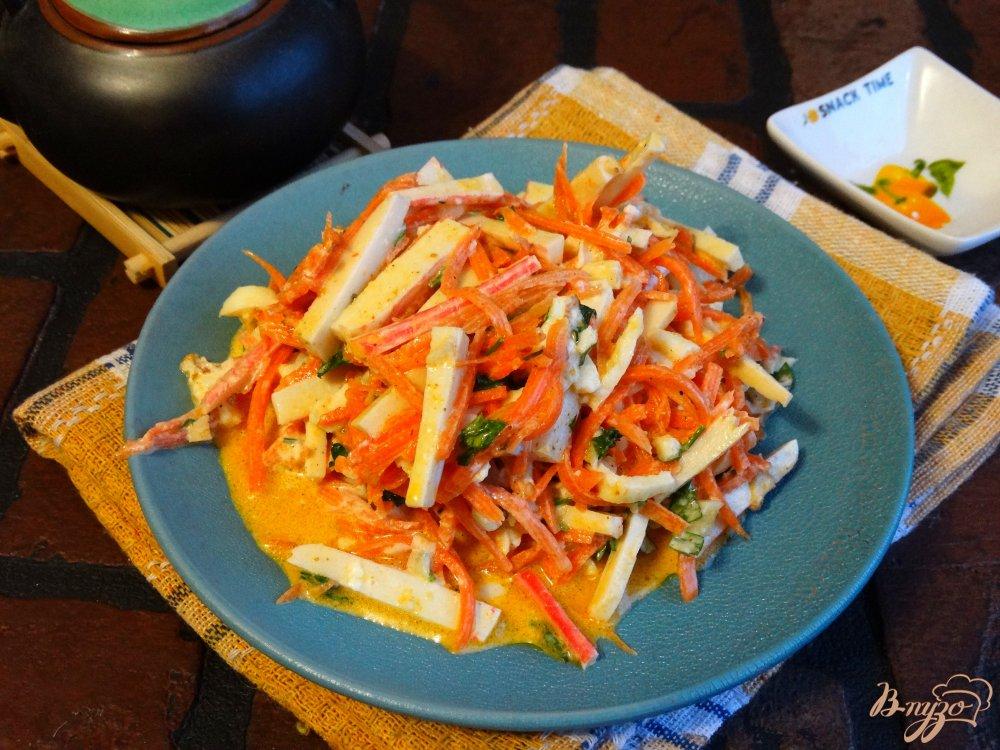 салат с корейской