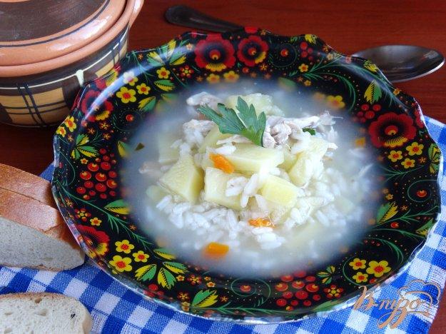 фото рецепта: Рисовый суп в мультиварке