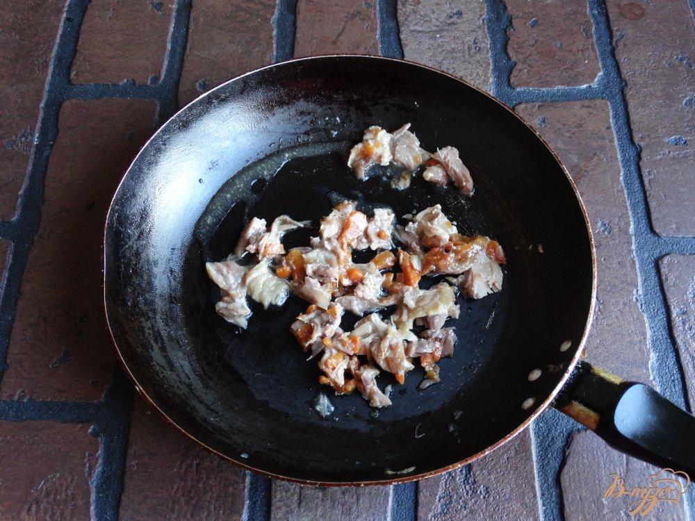 Рецепт Суп-лапша с соевой лапшой и тушенкой