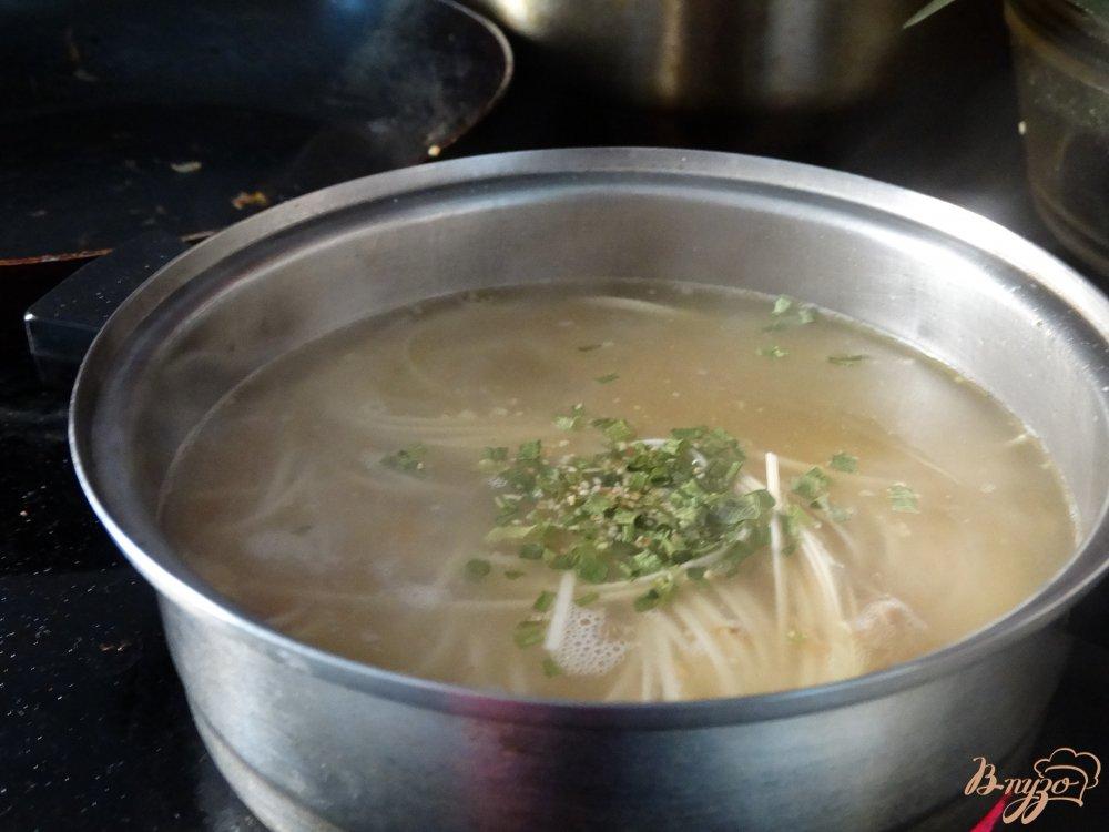Суп с клецками с тушенкой пошаговый рецепт