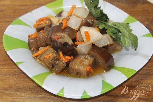 фото рецепта: Овощной рататуй с редькой и баклажанами