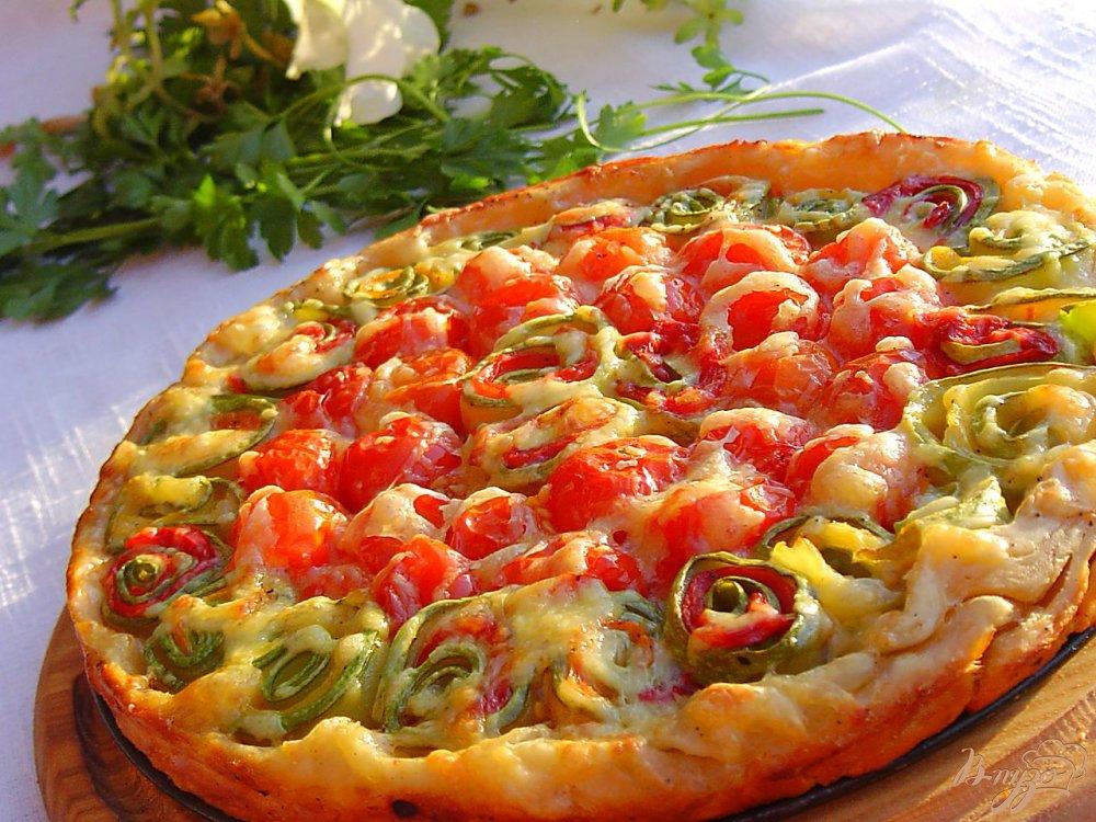 Овощные пироги рецепты 22
