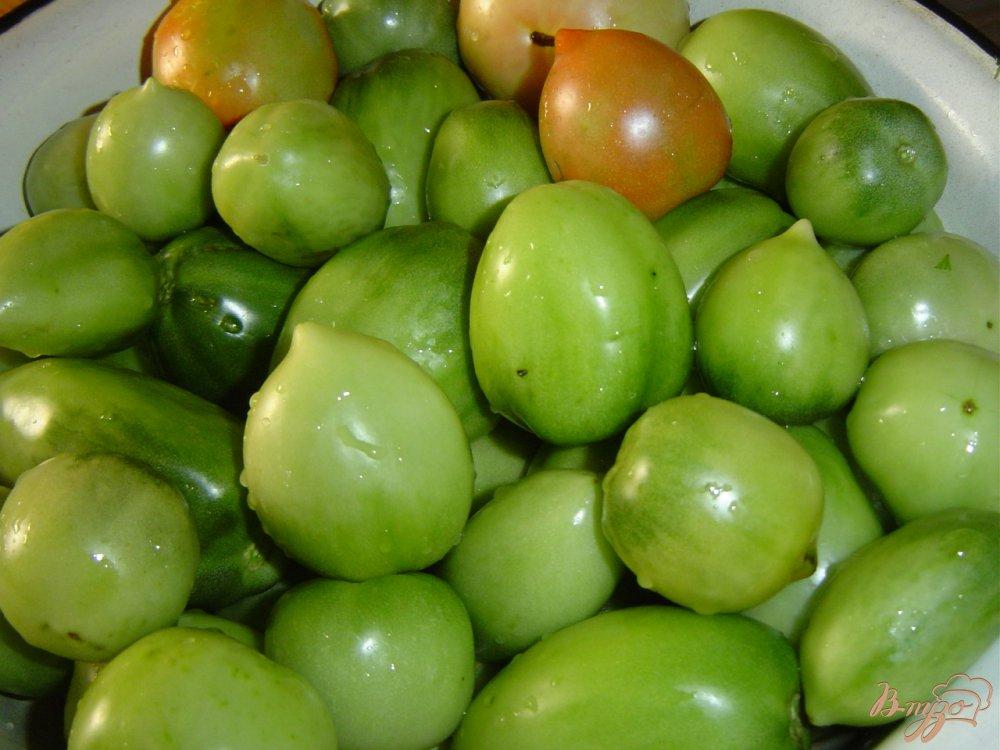 Рецепт Квашеные зеленые помидоры