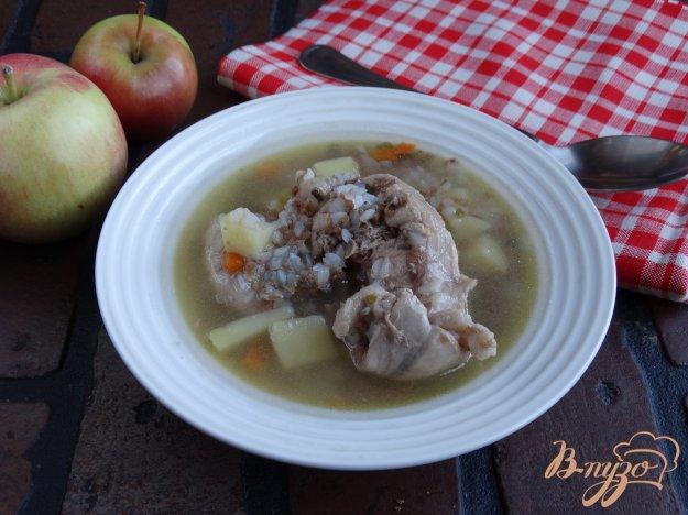 фото рецепта: Суп с кроликом в мультиварке