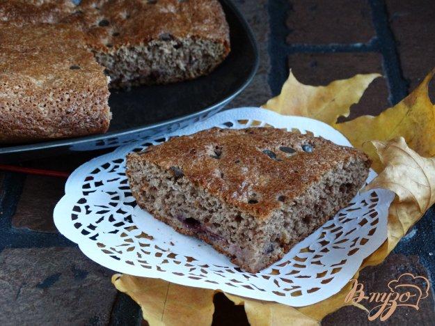 фото рецепта: Сливовая шарлотка с какао