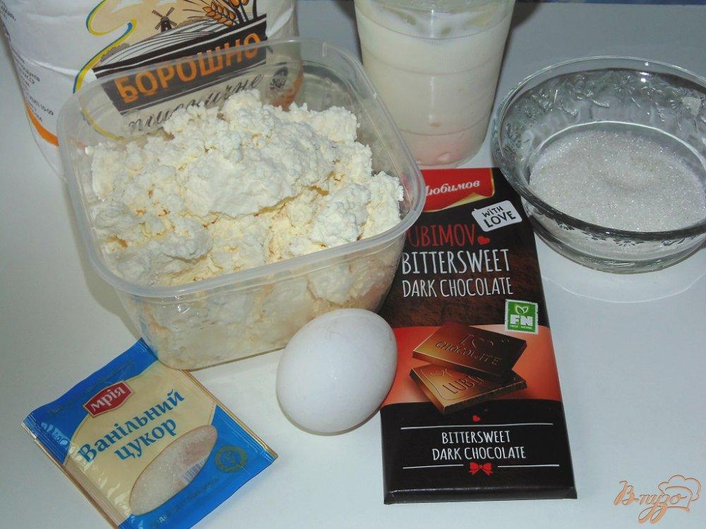Рецепт Ванильные сырники с шоколадной начинкой