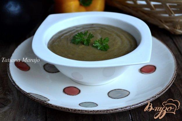 фото рецепта: Горохово-баклажановый суп-пюре