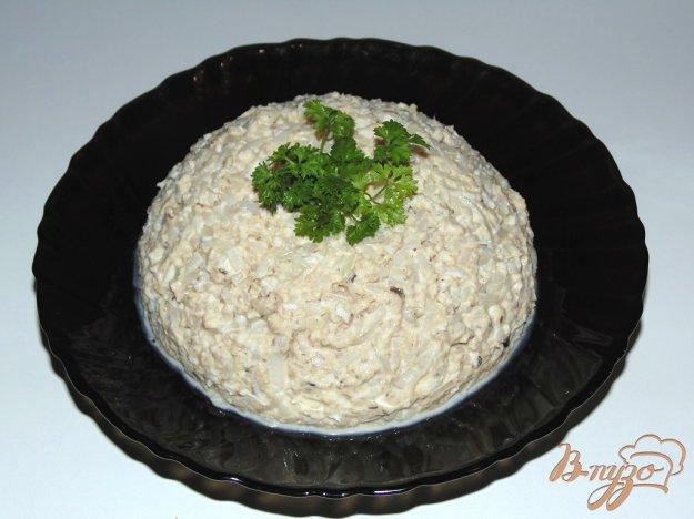 Салат из сардины с рисом с