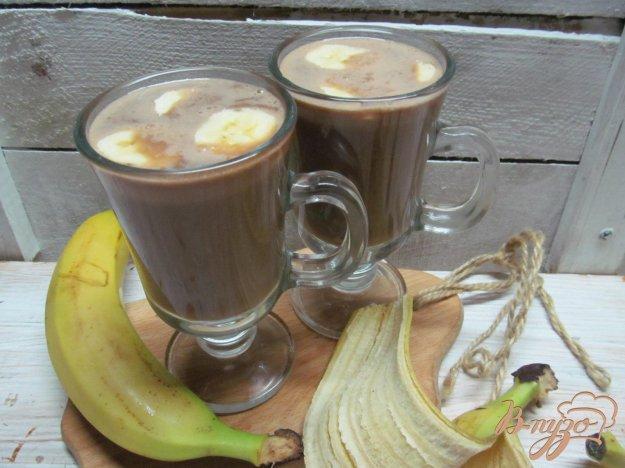 фото рецепта: Теплый банановый коктейль с шоколадом