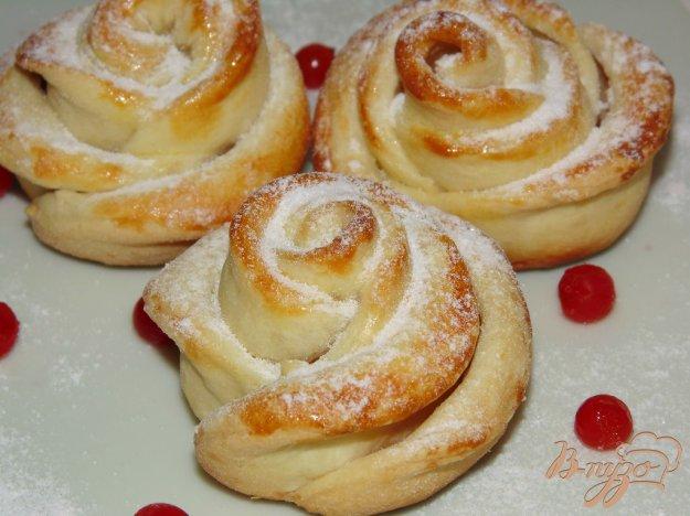 фото рецепта: Сахарная роза