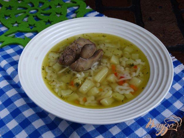фото рецепта: Суп печеночный Головоломка