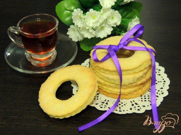 фото рецепта: Песочное печенье с коньяком