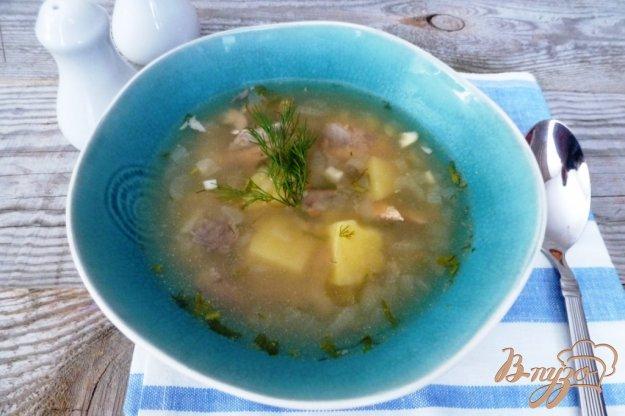 фото рецепта: Рыбный суп с пшеном