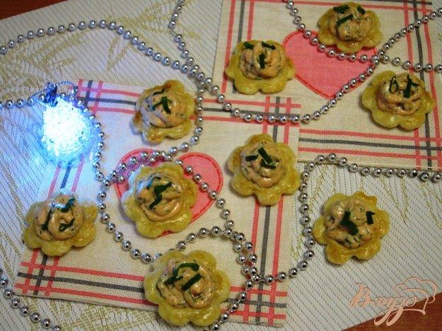 фото рецепта: Закусочные мини-корзинки