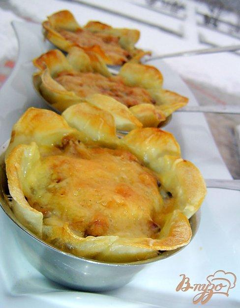 фото рецепта: Жульен в картофеле