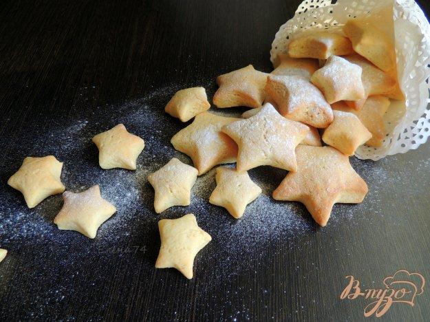 фото рецепта: Сметанно-кукурузные коржики