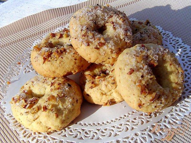 фото рецепта: Песочное печенье с орехами