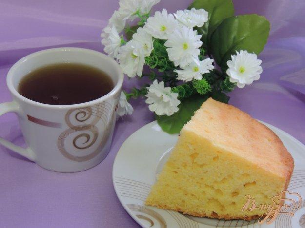 фото рецепта: Творожно-кукурузный кекс