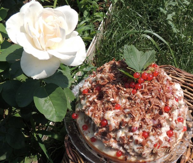 фото рецепта: Торт 3 ягодки