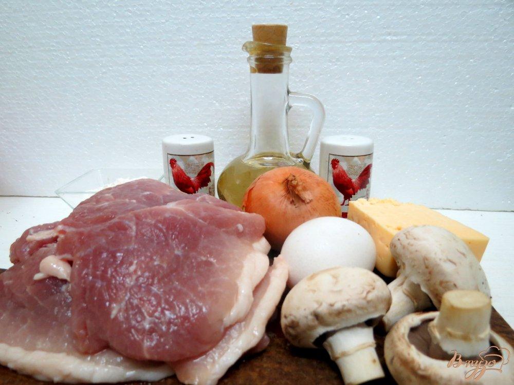 Рецепт Крученики с грибами под сырной шапочкой
